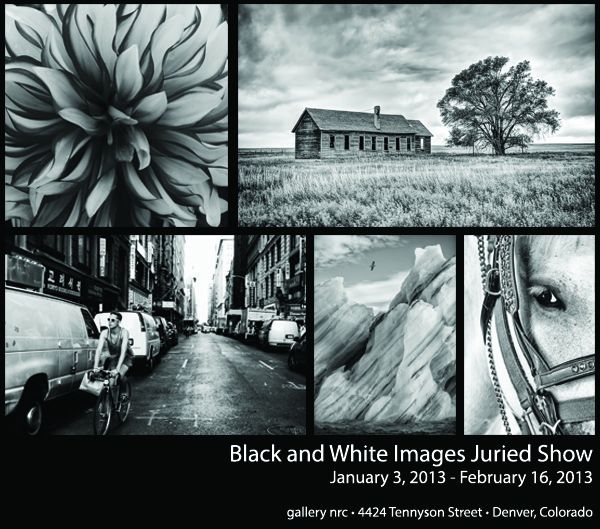 Black and White Images Juried Show