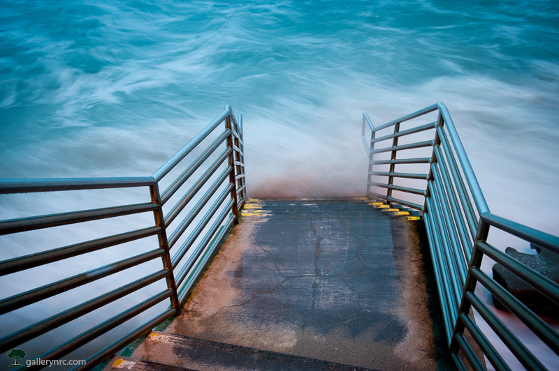 Steps to the Ocean by Neil Corman