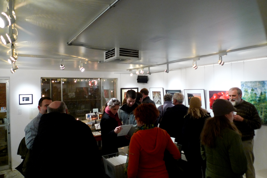 First Friday at gallery nrc